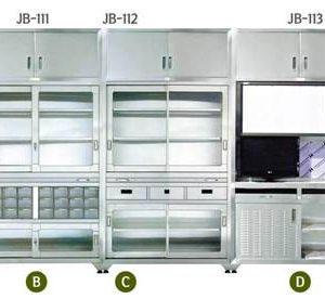 WALL MOUNTED INSTRUMENT CABINET